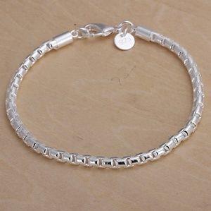 Jewelry - UNIQUE LINK .925 STERLING SILVER BRACELET